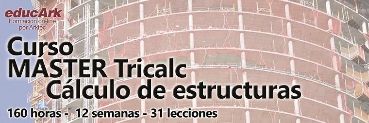 Curso TRICALC Master Cálculo de Estructuras