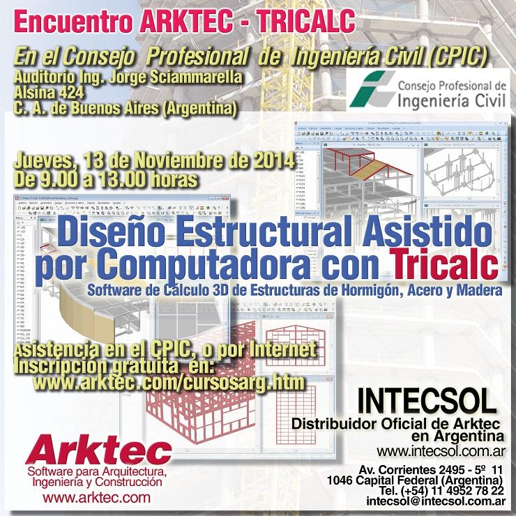Encuentro TRICALC en el CPIC de Buenos Aires-Argentina