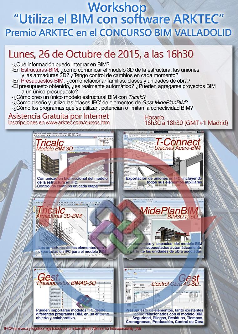 BIM de ARKTEC en el Concurso BIM de Valladolid