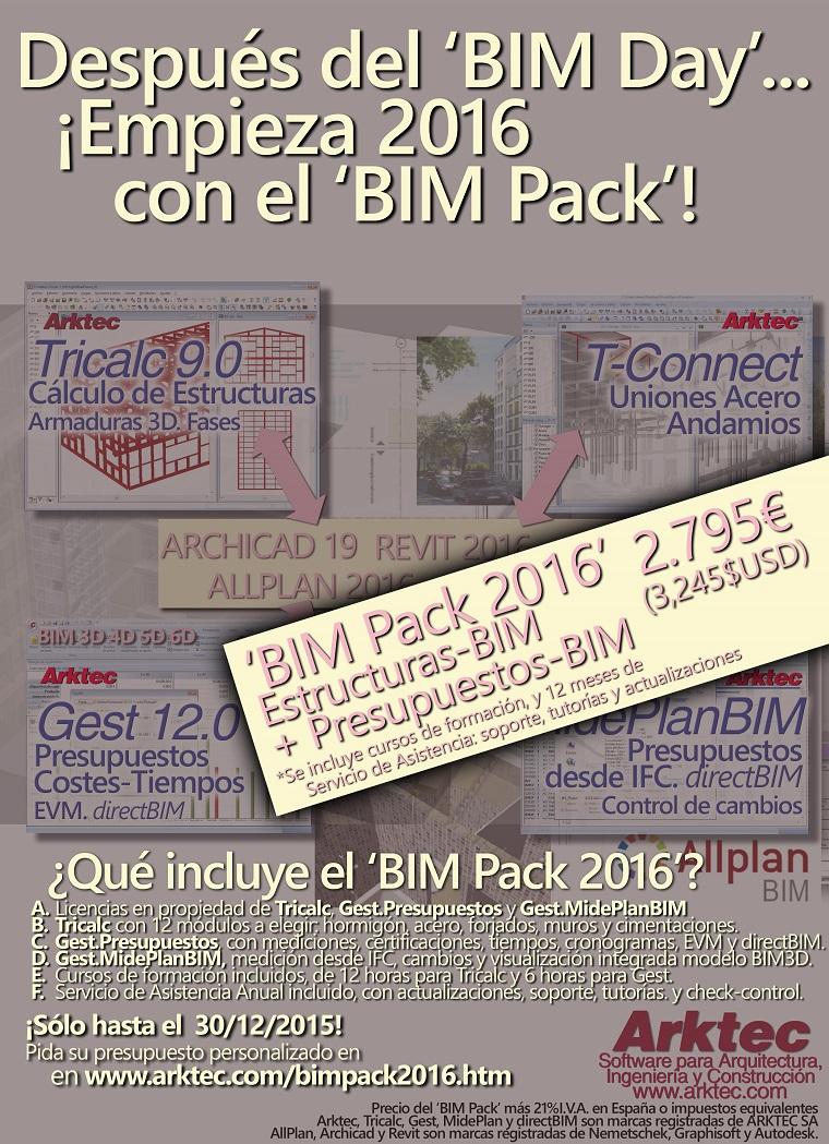 ARKTEC-BIM Pack 2016