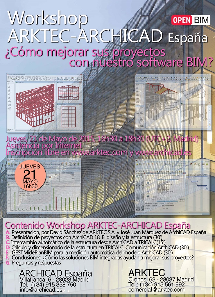 Workshop ARKTEC-ARCHICAD España