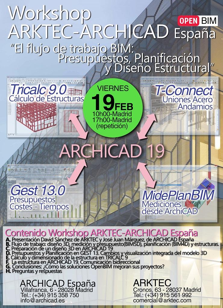 Workshop ARKTEC-ARCHICAD España